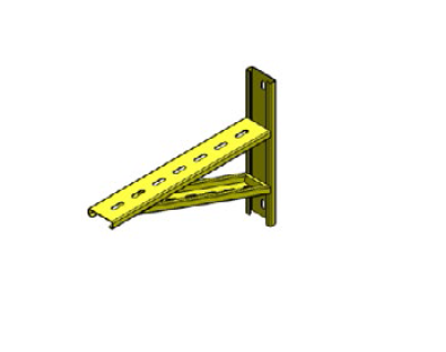 iFLEX Cable Tray, Wallmount Bracket Unit